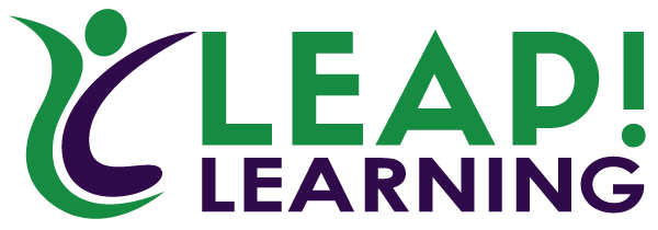 Leap Learn Logo